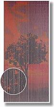 Türvorhang Raumteiler Bambus Bambusvorhang