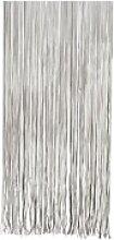 Türvorhang Twist 90x220 cm, schwarz-weiß,