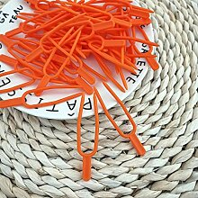 TUEU 50 Stück Pflanzenstiel-Clips für Tomaten,