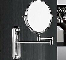 TUJHGF Wandhalterung Badezimmer Schminkspiegel
