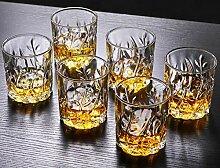 Tumblers Kristallgläser Whisky, 6er-Set Dauerhaft