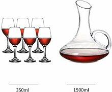 Tumblers Wein Dekanter, Longdrinkgläser Set Für