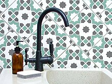 Tunis Kachel Muster Schablone, Wandfarbe,