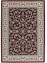 Tunisia - Monastir Rot Teppich Teppiche Modern Designer Kurzflor Flachflor Orientalisch Klassisch, Größe:200cm x 290cm