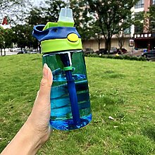 TUOLUO Kinder Stroh Trinkbecher Plastik
