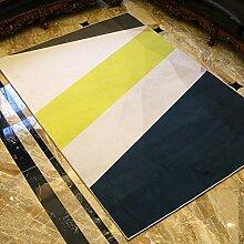 TUOXIE Teppich Moderne Teppiche mit einfachem Stil