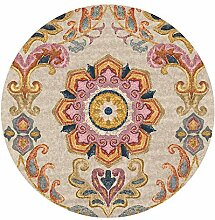 TUOXIE Teppich Round Teppichs for Living Room Area