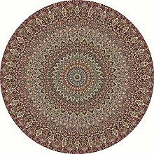 TUOXIE Teppich Runde Teppiche Für Wohnzimmer