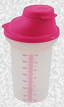 Tupper® Shake-It 350ml PINK Mixbecher Messbecher