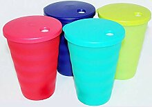 Tupperware (4) Impressionen Becher 16 Unzen Cups