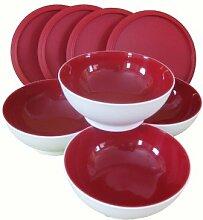 Tupperware© Allegra Dessert-Schälchen 275ml Rot