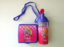 Tupperware Barbie Flasche und Lunchbox Brotdose