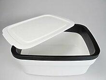 TUPPERWARE BrotMax 2 weiß schwarz Brotkasten