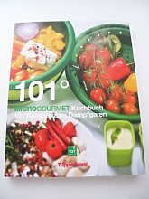 TUPPERWARE Kochbuch 101° Microgourmet Mikrowelle