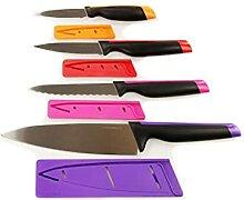 TUPPERWARE Messer Universal-Serie lila Koch+pink