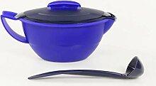 Tupperware Sauciere Thermo-Duo 400 ml blau