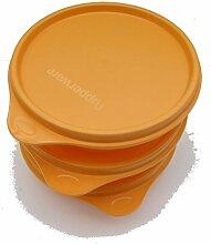 Tupperware © Schüssel 3x240ml mit Deckel Orange