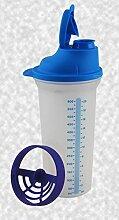 Tupperware® Shake-It 600ml BLAU Mixbecher