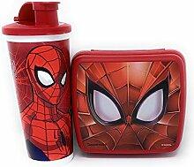 Tupperware Ultimate Spiderman Lunch-Set, Marvel,