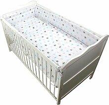TupTam Baby Bettwäsche mit Nestchen 3-TLG, Farbe: