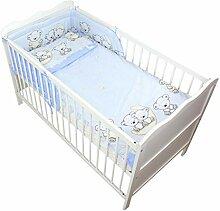 TupTam Baby Bettwäsche mit Nestchen Gemustert