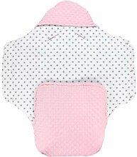 TupTam Baby Winter Fußsack Einschlagdecke für