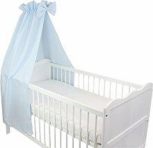 TupTam Babybett Himmel mit Schleifchen, Farbe: