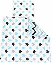TupTam Unisex Baby Bettwäsche Wiegenset 4-teilig,