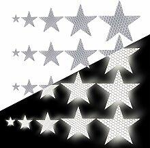 Tuqiang Sternform Reflektierendes Klebeband
