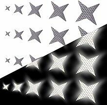 Tuqiang Vierzackige Sternform Reflektierendes