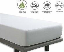 Tural - Kinderbett Matratzenschoner mit Aloe Vera-Behandlung Wasserdicht und atmungsaktiv. Frottee aus 100% Baumwolle. Wasserundurchlässige matratzenauflage Größe 70x140cm