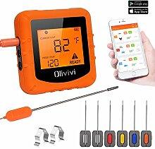 TURATA Olivivi Bluetooth Küchenthermometer