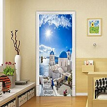 Turaufkleber Türtapete 3D Tapete Wandmalerei Tür