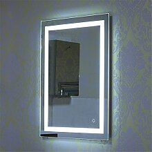 Turefans Wandspiegel LED Badezimmerspiegel