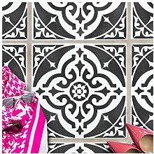 TURIN Fliese Wand Möbel Schablone für Malerei -