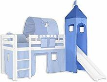 Turm Stoff-Set - Farbe:Hellblau/Dunkelblau