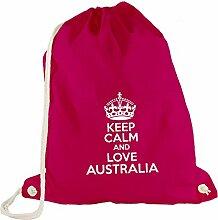 Turnbeutel - Keep Calm And Love Australia -