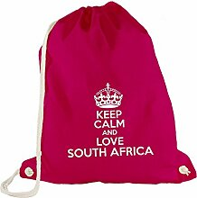Turnbeutel - Keep Calm And Love South Africa -