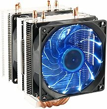 Tutoy 3 Pin 90Mm Led Light Cpu Kühlung Lüfter Kühler Radiator Für Intel Lga2011 Lga1155 Amd3 + Amd2 - Blau