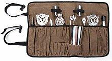 TUYU TYDB185 Barkeeper-Set gewachst wasserfest