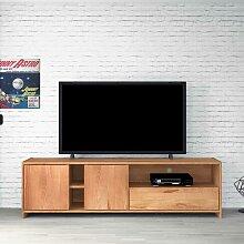 TV Board aus Kernbuche Massivholz 190 cm