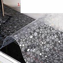Tv cabinet mat/tischdecke/pvc,wasserdichte matte/kristall-tischdecke/weichglas,kunststoff,transparent,frosted tisch matte-B 40x220cm(16x87inch)
