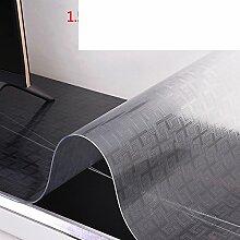 Tv cabinet mat/tischdecke/pvc,wasserdichte matte/kristall-tischdecke/weichglas,kunststoff,transparent,frosted tisch matte-I 40x230cm(16x91inch)