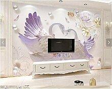 Tv hintergrund wand europäischen luxus 3d tapete