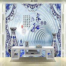 TV-Hintergrund Wand home und reichen blauen und