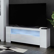 TV Kommode in Weiß Hochglanz LED Beleuchtung