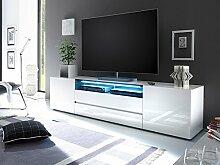 """TV-Lowboard Hifi Rack Longboard Unterschrank Fernsehtisch Schrank """"Dartford II"""