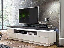 "TV-Lowboard Longboard Rack Hifi Unterschrank Fernsehtisch Möbel ""Atlanta II"