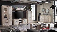 TV Lowboard mit Ancona Nussbaum              TV