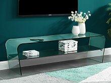 TV-Möbel Glas Design KELLY
